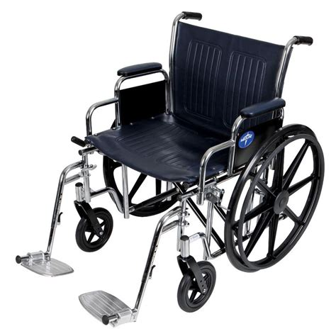 wheel chairs medline excel manual wheelchair mds806700 the home depot