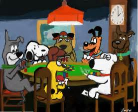 cartoon dog poker pixelbunny deviantart