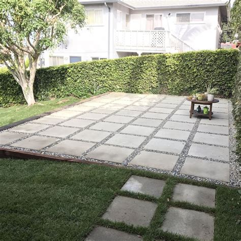 large paver patio large paving stones patio outdoor goods with pavers