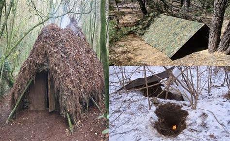 survival shelter te survival bushcraft ve