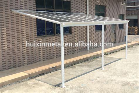 sturdy aluminium polycarbonate patio cover balcony canopy
