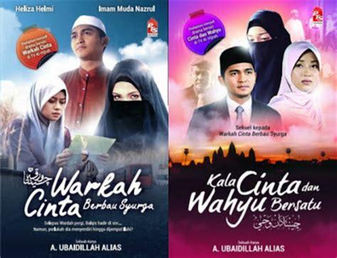film malaysia cinta dan wahyu senarai drama melayu adaptasi novel sudah tayang akan