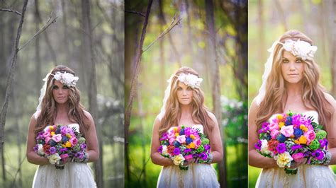 Wedding Photoshop by Photoshop Wedding Photo Editing Painting Color