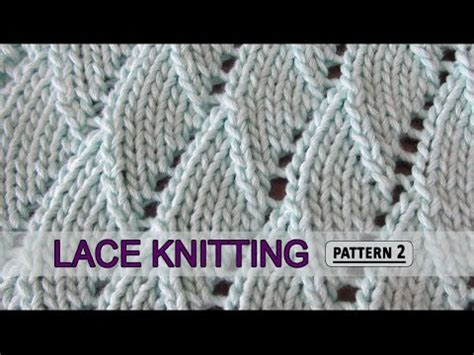 wave pattern youtube overlapping waves lace knitting pattern 2 youtube
