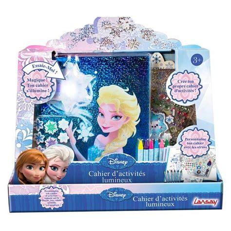 cahier d activit 233 lumineux la reine des neiges lansay king jouet dessin et peinture lansay
