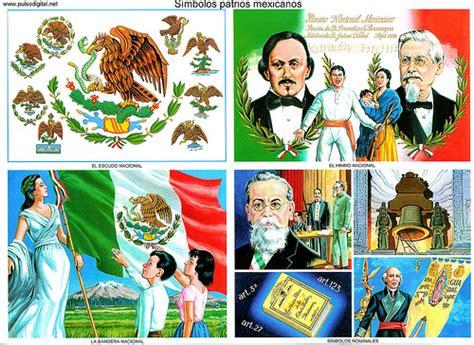 imagenes los simbolos patrios los s 237 mbolos patrios de m 233 xico ciclo escolar