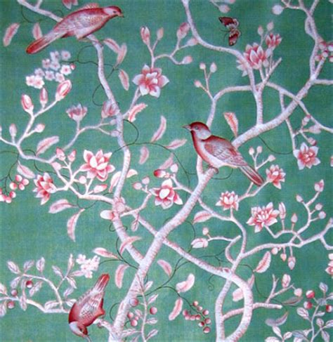 fabric wallpaper chinoiserie wallpaper