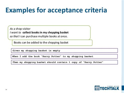 acceptance criteria template agile requirements management
