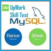 upwork odesk and elance mysql test question and answers