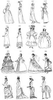 Bridal Fashion Regency And Victorian Clothing Styles sketch template