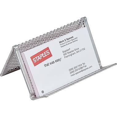 Staples Business Card Holder