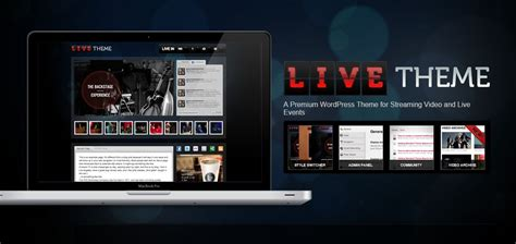 Wordpress Themes For Live Tv | how to add live streaming to your wordpress site