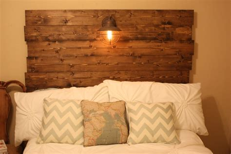 diy barnwood headboard rustic bedroom decorations with reclaimed barnwood