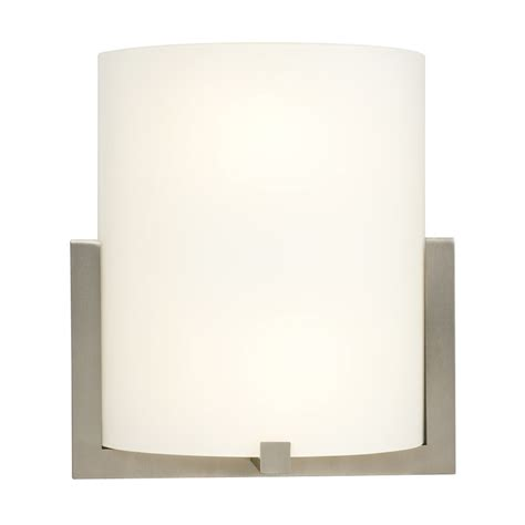 Pocket Wall Sconce Shop Galaxy 10 25 In W 1 Light Brushed Nickel Pocket Wall