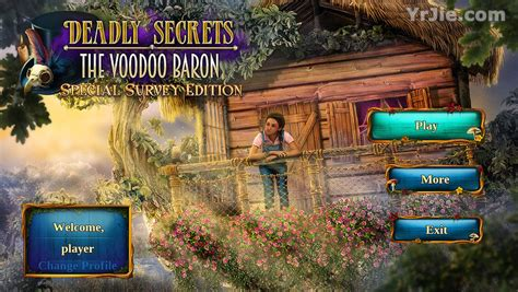 Hr The Baron Collector S Edition deadly secrets the voodoo baron collector s edition bdstudiogames