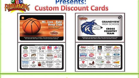 how to make a discount card discount card fundraiser 93 profit abc fundraising