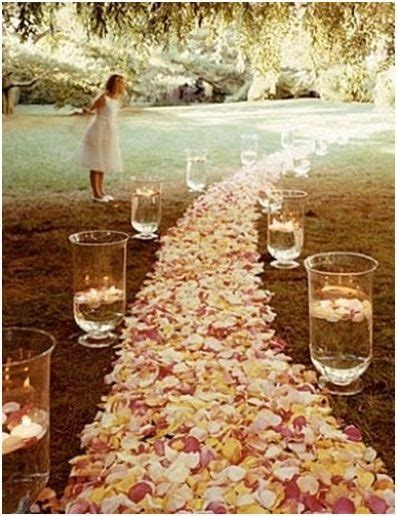 Wedding Aisle Outdoor by Outdoor Wedding At Home Outdoor Wedding Aisle