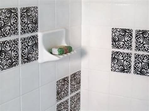 Ceramic Tile Decals Bathroom by Awesome Removable Wall Tiles Homesfeed