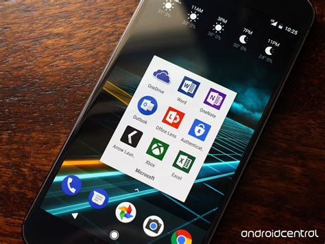 app to on android best microsoft apps for android android central