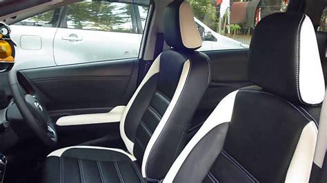 Sarung Jok Mobil Toyota Sienta pasang sarung jok mobil paten toyota sienta kombinasi dua