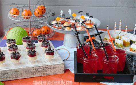 halloween themed desserts frightfully festive halloween dessert bar
