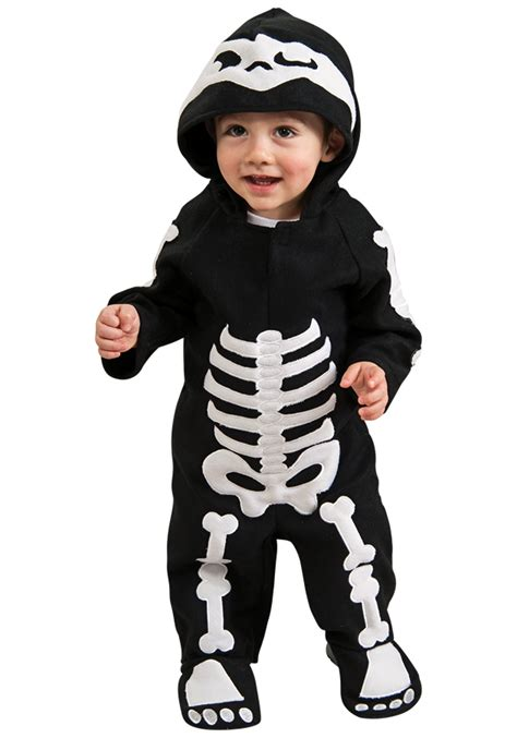 Skeleton Costumes Infant Toddler Skeleton Costume
