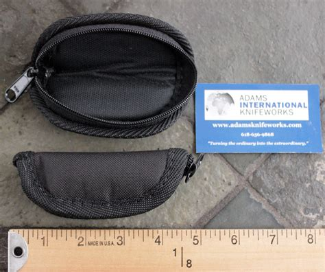 zippered knife pouch aik s custom quality zippered mini knife pouch w ballistic