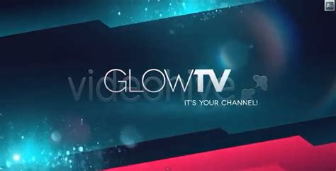 Videohive Glow Tv Broadcast Package Adobe After Effect Template After Effect Heaven Template Bumper After Effect Free