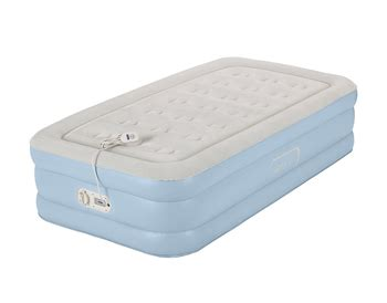 comfort air bed reviews aerobed one touch comfort twin air mattress review the