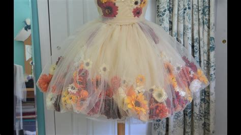 Making Aower Fairy Dress Part One Youtube