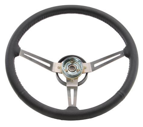 Steering Wheel Jeep Omix Ada 18031 06 Oem Style Leather Grip Steering Wheel