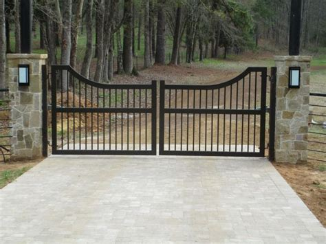 Backyard Ideas With Fire Pits Choosing The Best Automatic Gate For Your Home In Dfw