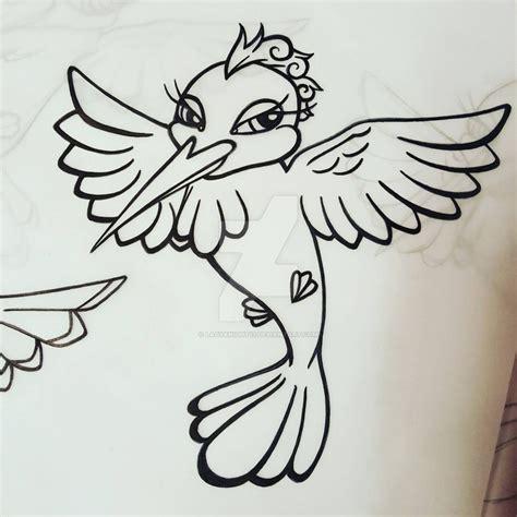 new school hummingbird tattoo new school hummingbird tattoo design 2 by ladyknight17 on