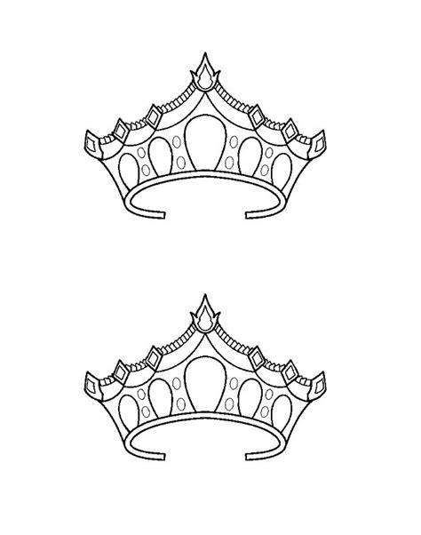 45 free paper crown templates free template downloads