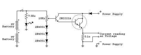 load resistor in a transistor circuit electronic load
