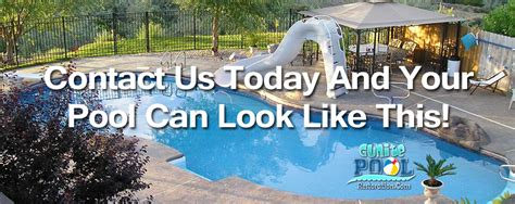 gunite pool marcite plaster tile repair michigan