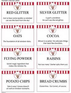 reindeer food food bars and reindeer on pinterest