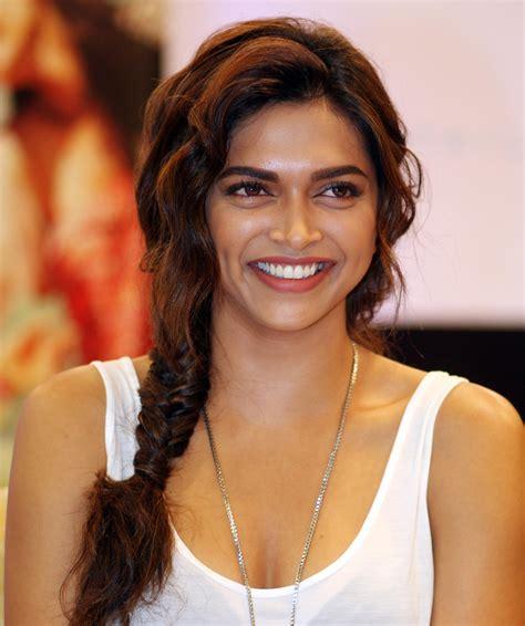 indian hairstyles to look younger deepika padukone illuminates hindi screen with flaming