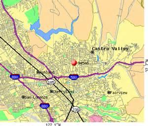 castro valley california map castro valley ca map