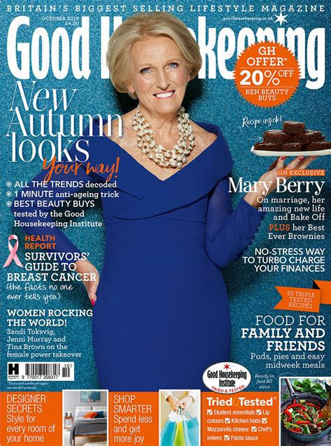 good housekeeping com mary berry is good housekeeping s october cover star