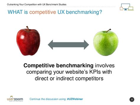 what is bench marking outranking your competition with ux benchmark studies