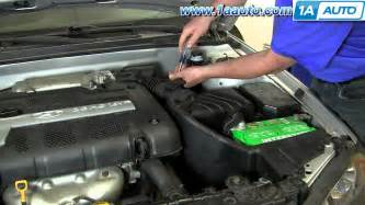 how to replace an air filter in a hyundai sonata ehow