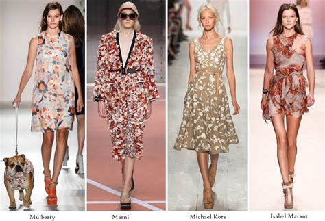 Summer 08 Trends Floral The Catwalk Looks by Lydia Hearst 2014 February