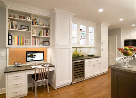 Home Office Ideas With Kitchen Cabinets Home Office Design Ideas For Small Spaces