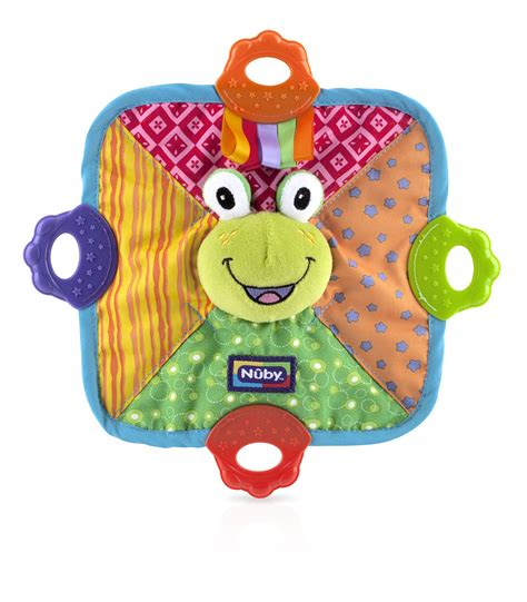 Nuby Bandana Bib With Teether nuby bandana bib with teether pattern may