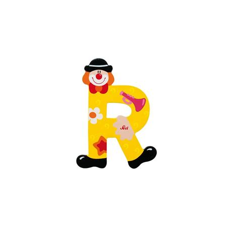 lettere sevi sevi lettre clown r lettre deco bois 81754 jouetydo