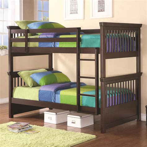 Palliser Bunk Bed Coaster Bunks 460266 Casual Style Bunk Bed Dunk