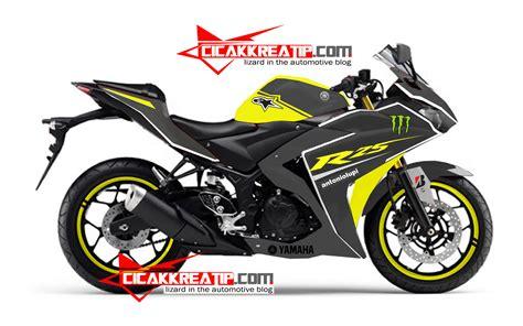 Lu Hid Motor Warna Kuning modif yamaha r25 warna kuning kombinasi hitam lumayan d