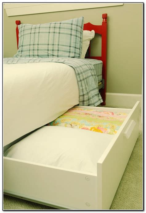 bed storage with wheels beds home design ideas