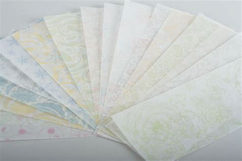 How To Make Paper Translucent - pattern translucent paper www soho paper